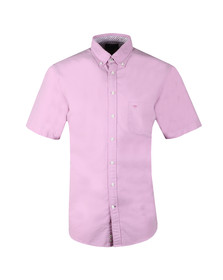 Fynch Hatton Mens Purple S/S Colourful Summer Shirt