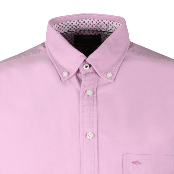 Fynch Hatton Mens Purple S/S Colourful Summer Shirt main image