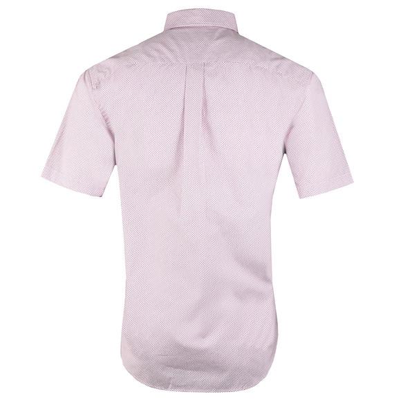 Fynch Hatton Mens Red S/S Print Shirt main image