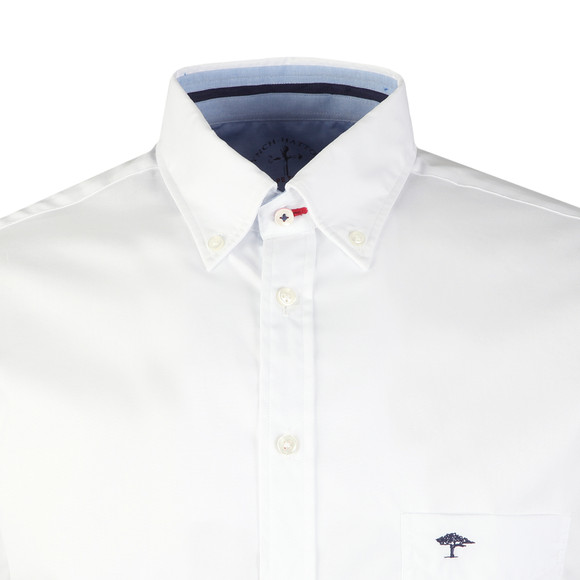 Fynch Hatton Mens White Maritime SS Shirt main image