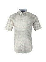S/S Structured 2 Tone Shirt