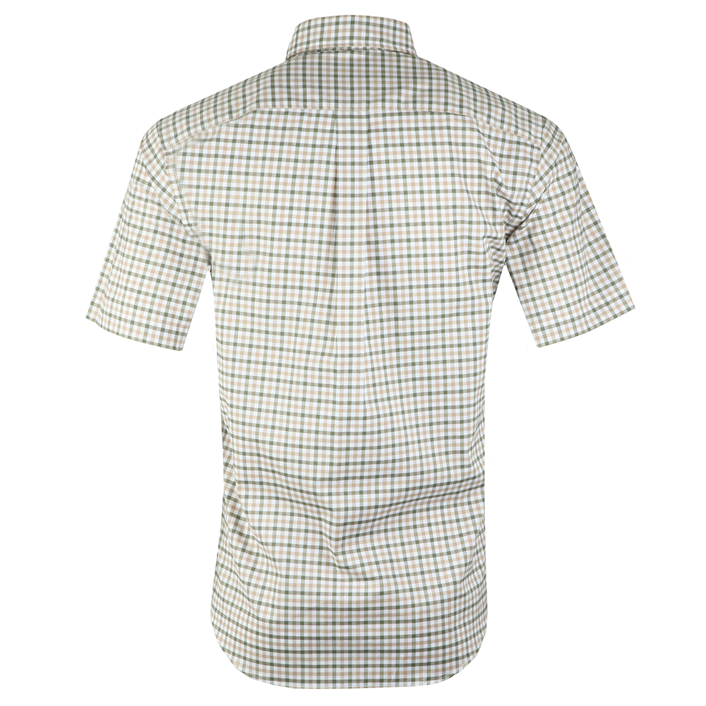 S/S Structured 2 Tone Shirt main image