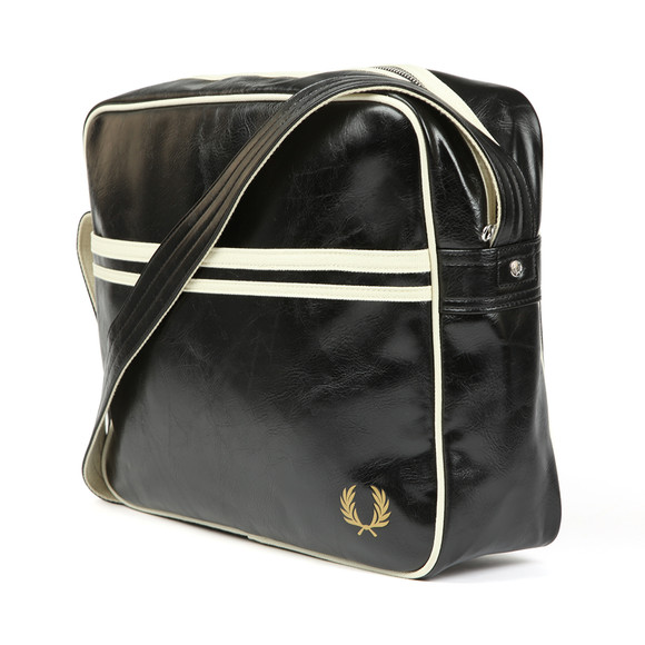 Fred Perry Mens Black Classic Shoulder Bag main image