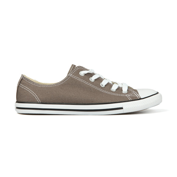 Converse Womens Grey CT AS Dainty OX Trainer main image