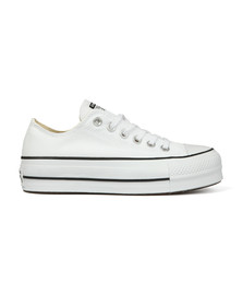 Converse Womens White All Star Low Platform Ox
