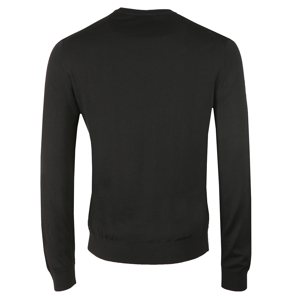 Knitted V Neck Jumper main image