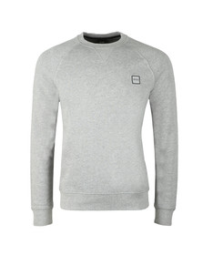 BOSS Orange Mens Grey Wyan Sweatshirt