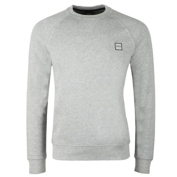 BOSS Casualwear Mens Grey Wyan Sweatshirt main image