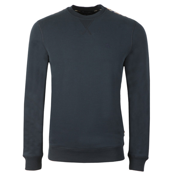Aquascutum Mens Blue Oliver Crew Neck Sweater main image