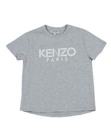 Kenzo Kids Boys Grey Logo T  Shirt
