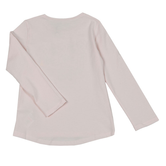 Kenzo Kids Girls Pink Printed Tiger T Shirt