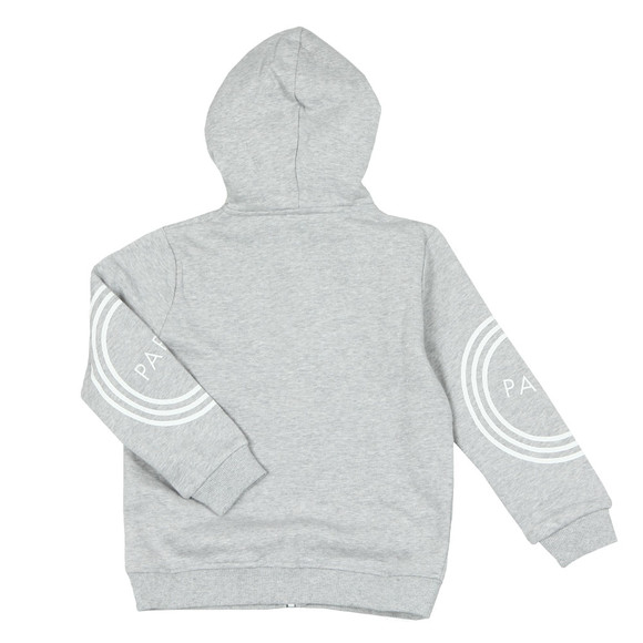 Kenzo Kids Boys Grey Boys Logo Full Zip Hoody main image