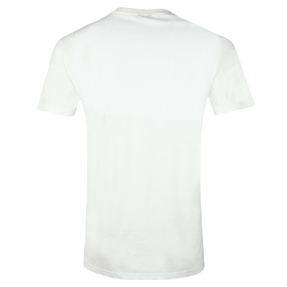 K-Way Mens White Elliot Macro Logo T Shirt main image