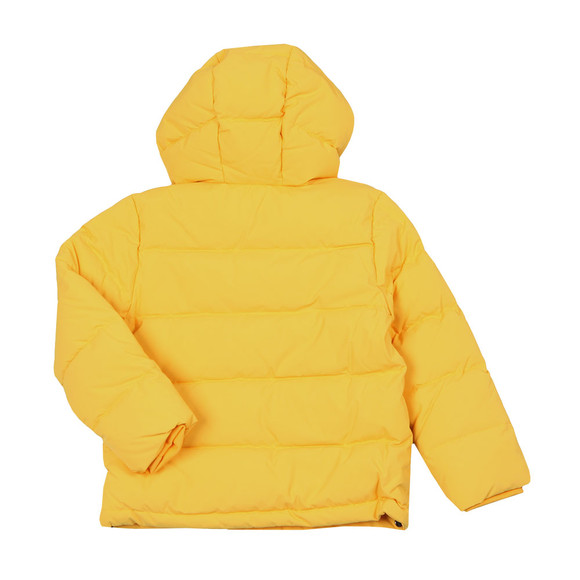 Kenzo Kids Boys Yellow Down Jacket