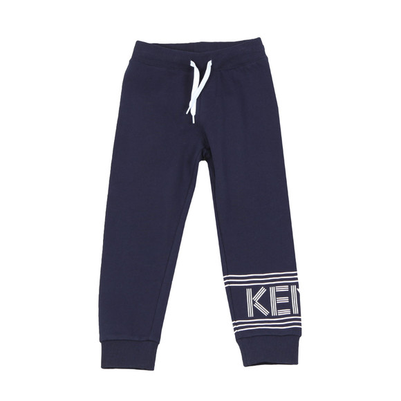 Kenzo Kids Boys Blue Boys Logo Jogger main image