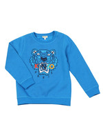 Boys Embroidered Tiger Sweatshirt