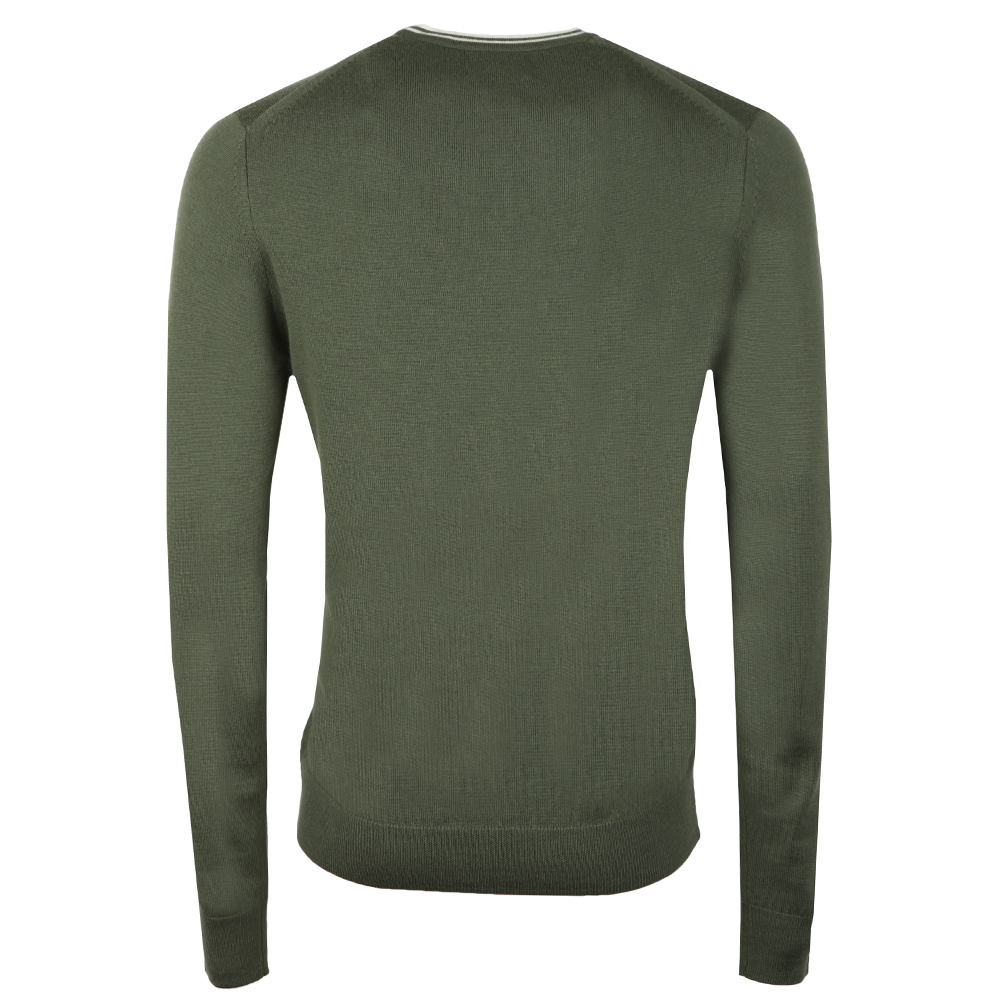 7a07272ea942 Fred Perry Classic Crew Neck Jumper | Oxygen Clothing