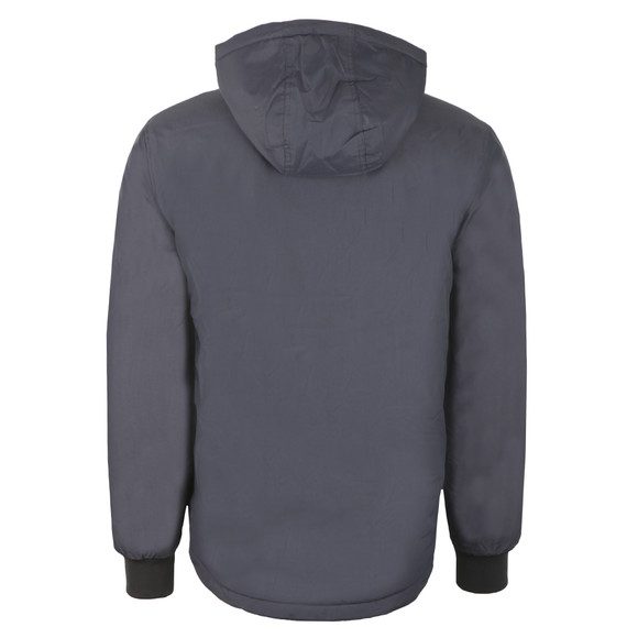 Fred Perry Mens Grey 1/2 Zip Hooded Brentham Jacket main image