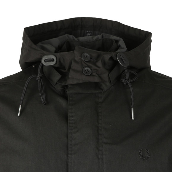 Fred Perry Mens Black Fishtail Parka main image