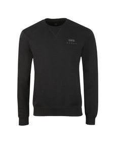 Edwin Mens Black Base Crew Sweatshirt