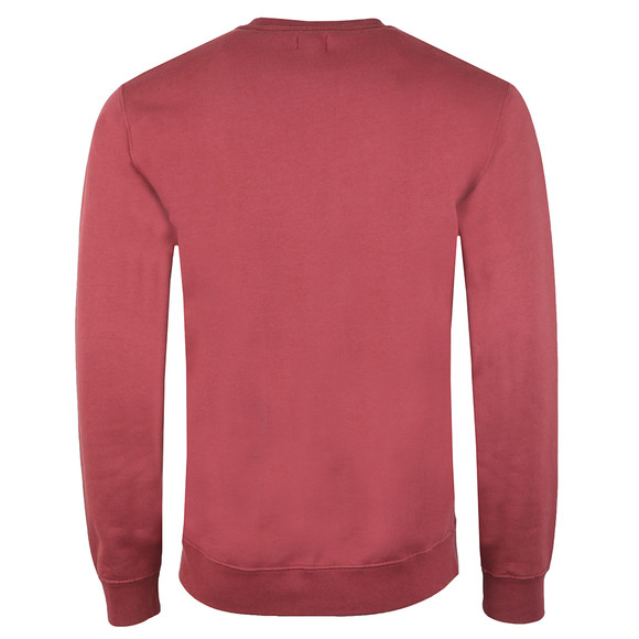 Edwin Mens Red Base Crew Sweatshirt main image