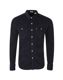 Levi's Mens Blue L/s Barstow Shirt