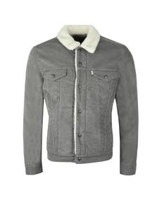 Levi's Mens Grey 3 Type Sherpa Trucker Jacket