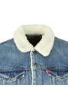 Levi's Mens Blue Sherpa Trucker Jacket