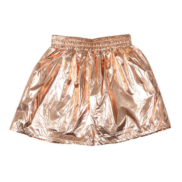 Kenzo Kids Girls Pink Cosmic Metallic Skirt