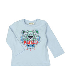 Kenzo Kids Boys Blue Baby Tiger T Shirt