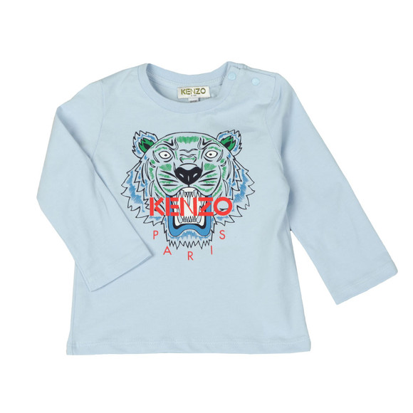 Kenzo Kids Boys Blue Baby Tiger T Shirt main image
