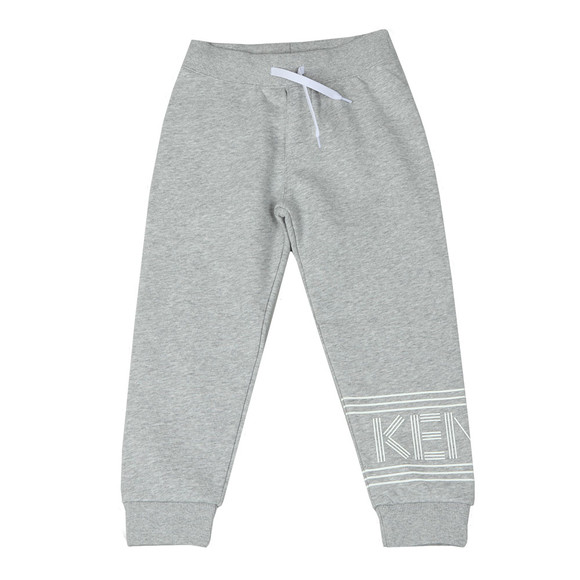 Kenzo Kids Boys Grey Logo Jogger