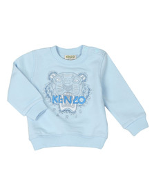 Kenzo Kids Boys Blue Baby Tiger Sweatshirt