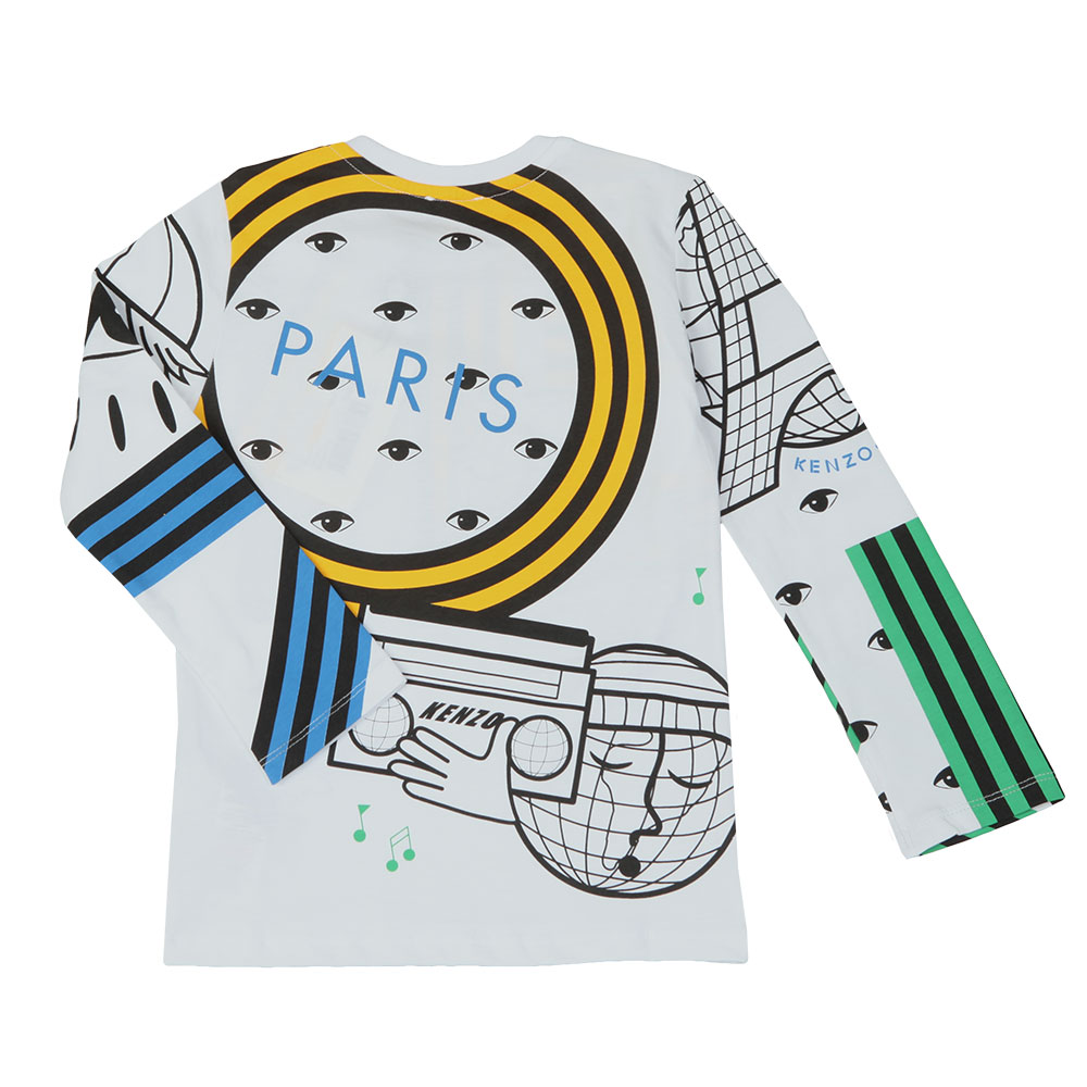 Cosmic Kenzo Long Sleeve T Shirt main image