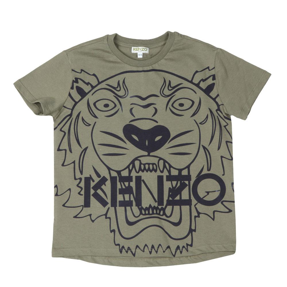 Boys Large Tiger Printed T Shirt main image