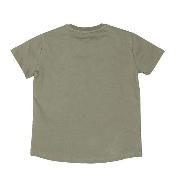 Kenzo Kids Boys Green Boys Large Tiger Printed T Shirt main image