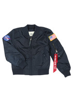 Boys MA1 Nasa Bomber