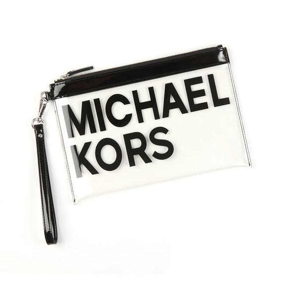 Michael Kors Womens Transparent Large Travel Pouch main image