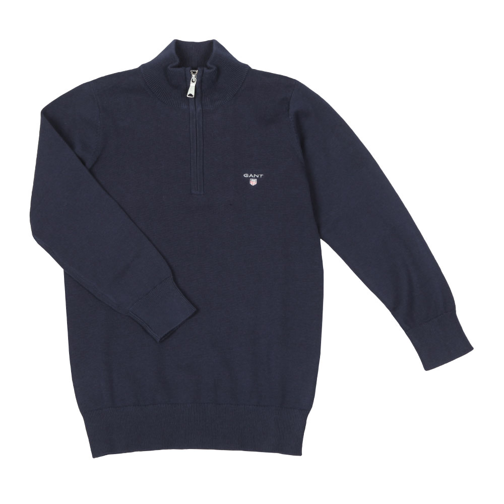 TB Lightweight Cotton Half Zip main image