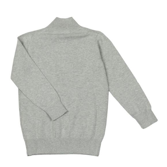 Gant Boys Grey TB Lightweight Cotton Half Zip main image