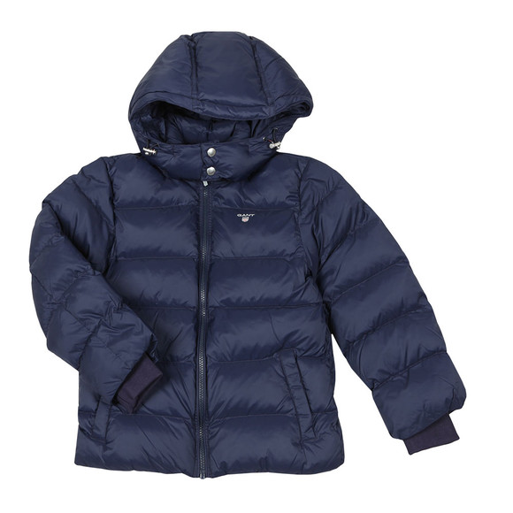 Gant Boys Blue Alta Puffer Jacket main image