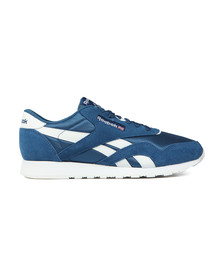 Reebok Classic Mens Blue Nylon Trainer