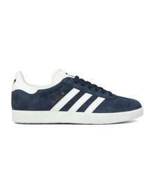 Adidas Originals Womens Blue Gazelle OG W Trainer