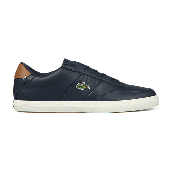 Lacoste Mens Blue Court-Master 318 Trainer main image