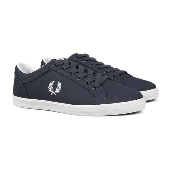 Fred Perry Mens Blue Baseline Trainer main image