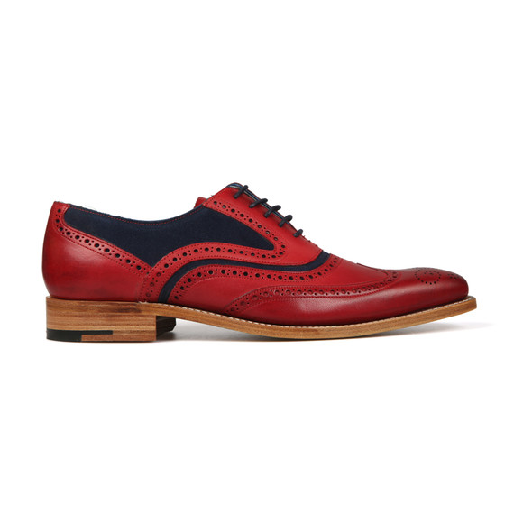 Barker Mens Red McClean Shoe