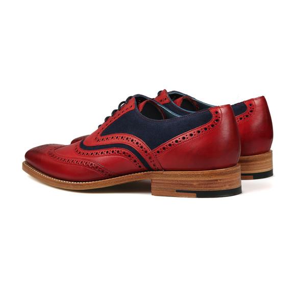 Barker Mens Red McClean Shoe main image