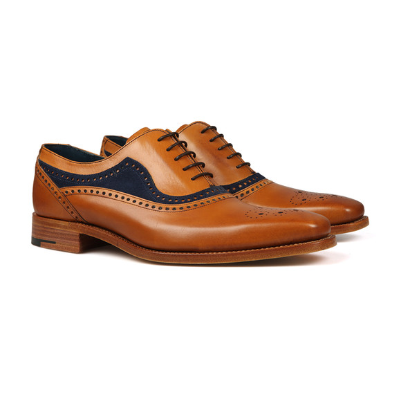 Barker Mens Brown Brandon Shoe