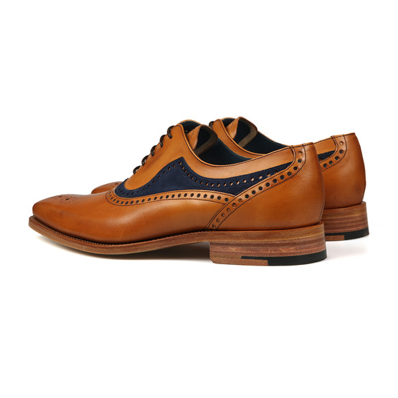 Barker Mens Brown Brandon Shoe main image
