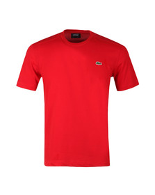 Lacoste Sport Mens Red TH7618 Plain T-Shirt